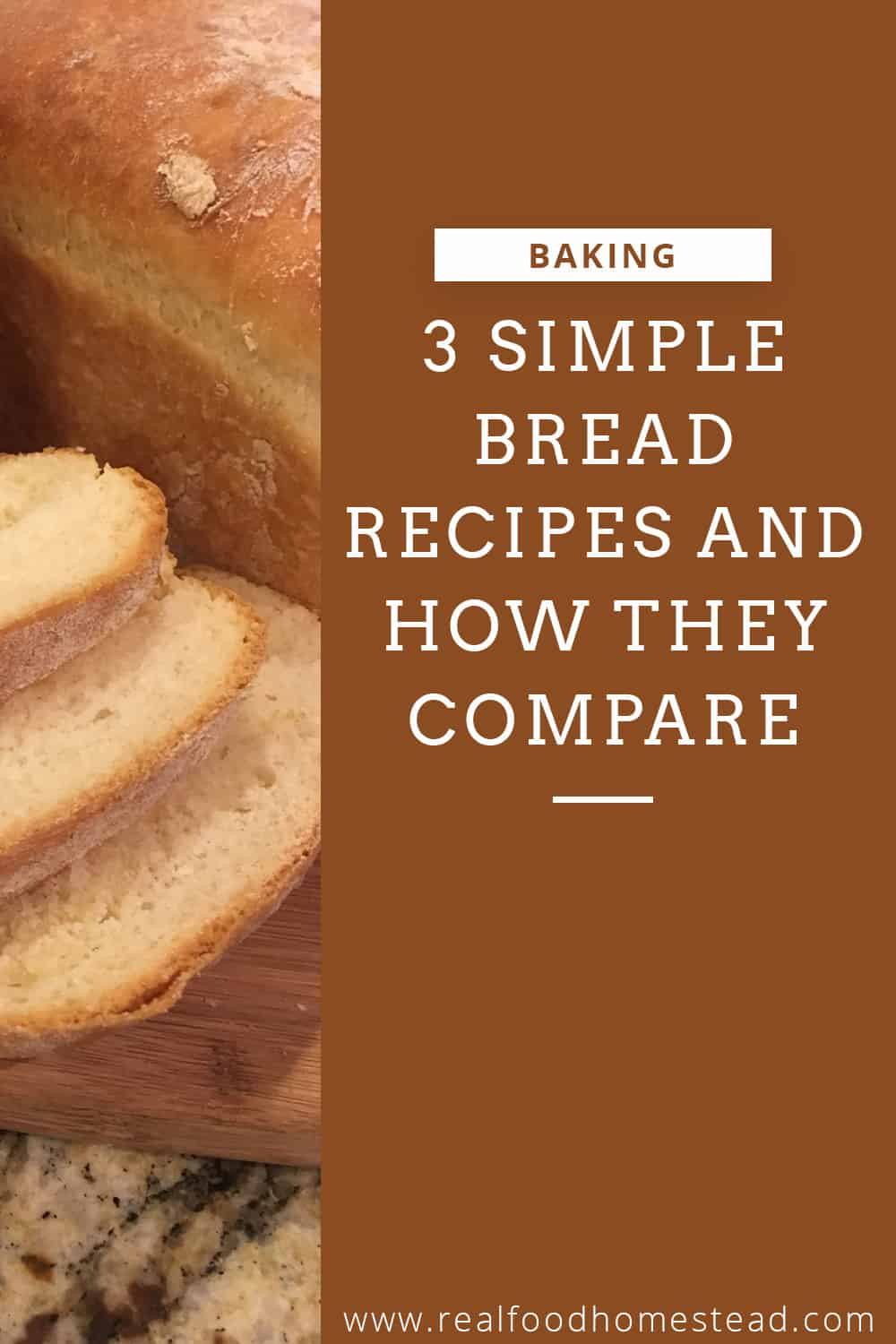 simple bread recipes pin