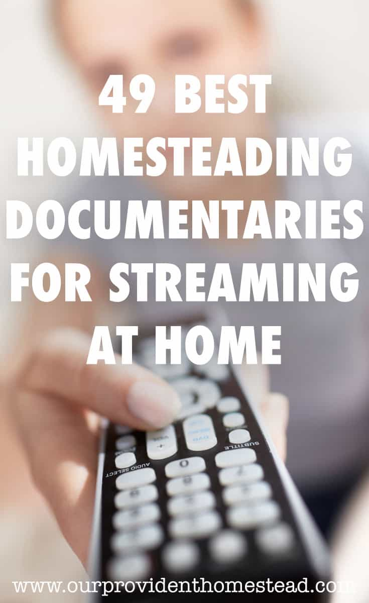 homesteading documentaries pin