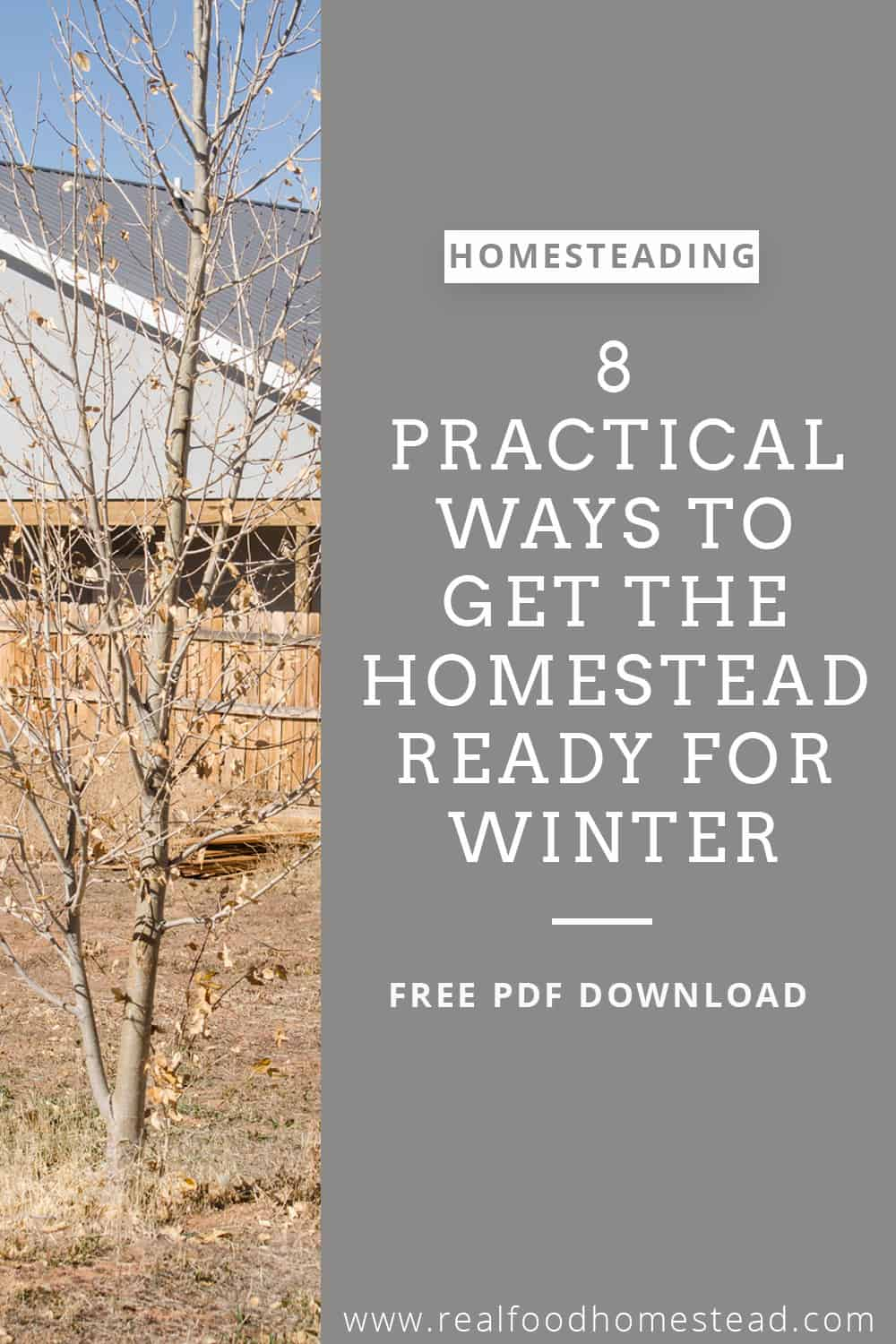 get homestead ready winter pin