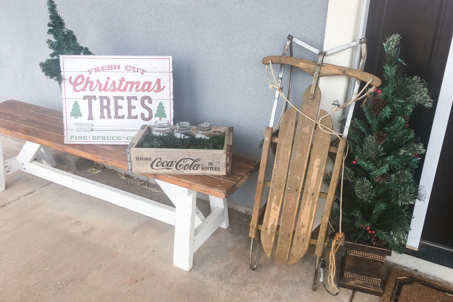 Decorating for Christmas on the Homestead