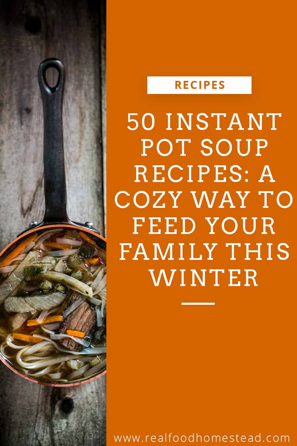 instant pot soup recipes pin