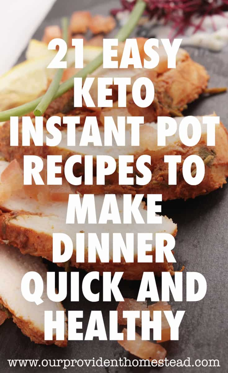 keto instant pot recipes pin