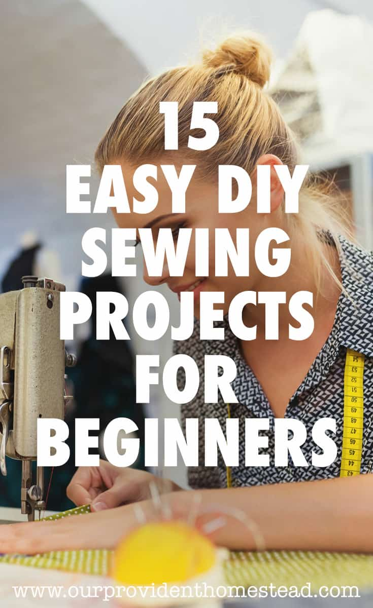 easy DIY sewing projects pin