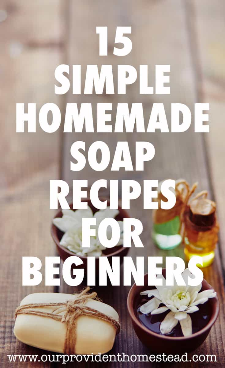 homemade soap recipes pin