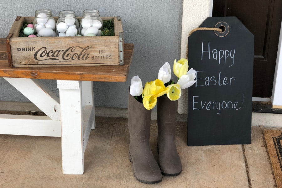 21 Beautiful Farmhouse Style DIY Spring Decor Ideas