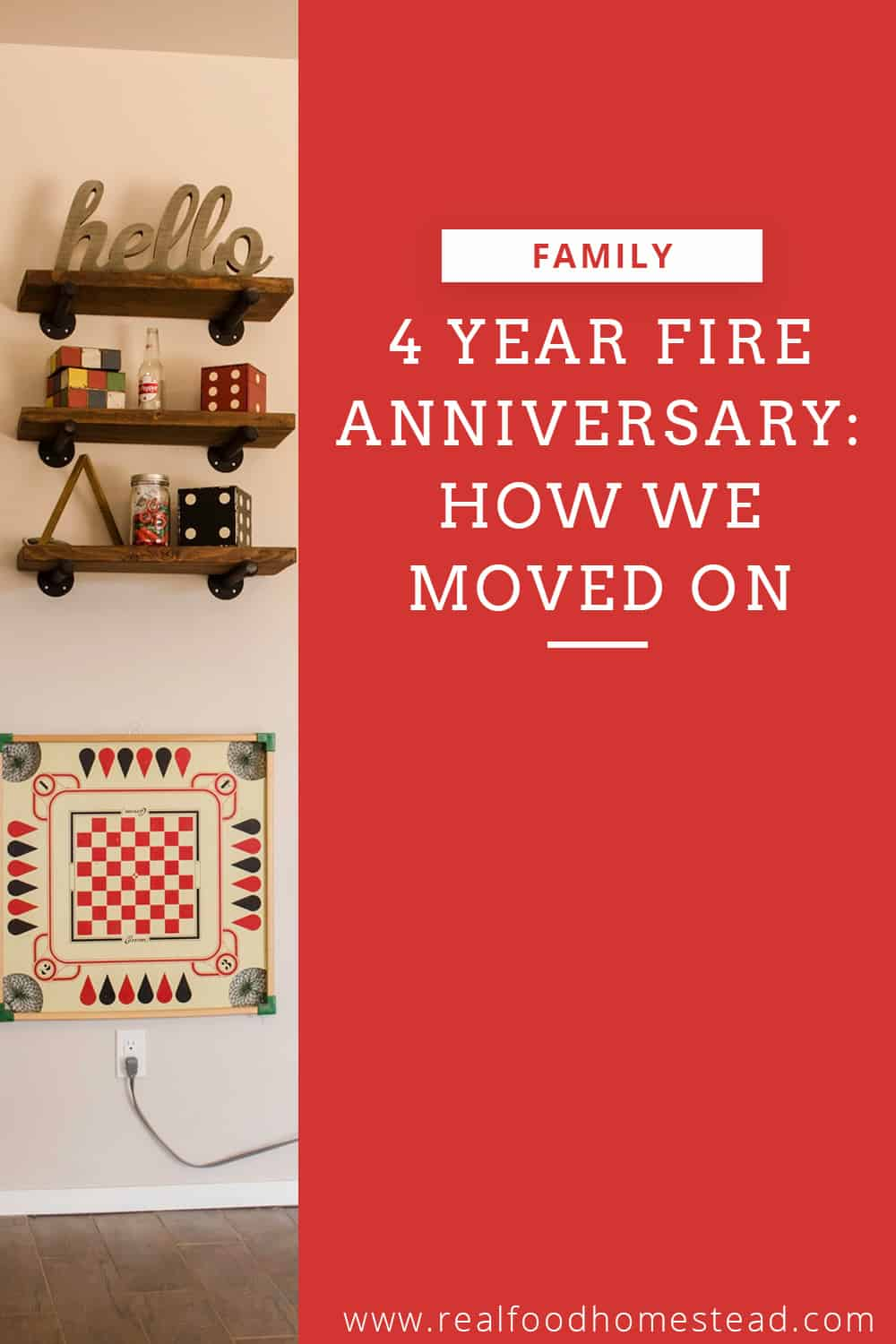 fire anniversary pin