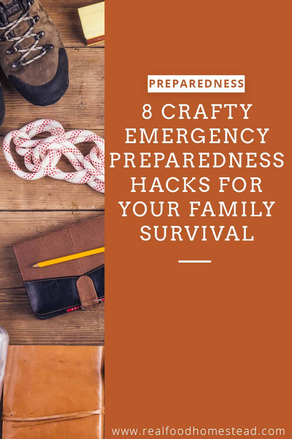 emergency preparedness hack pin