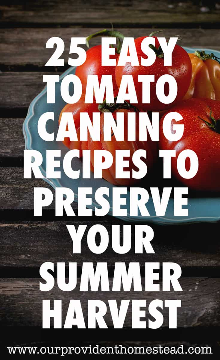 tomato canning recipes pin