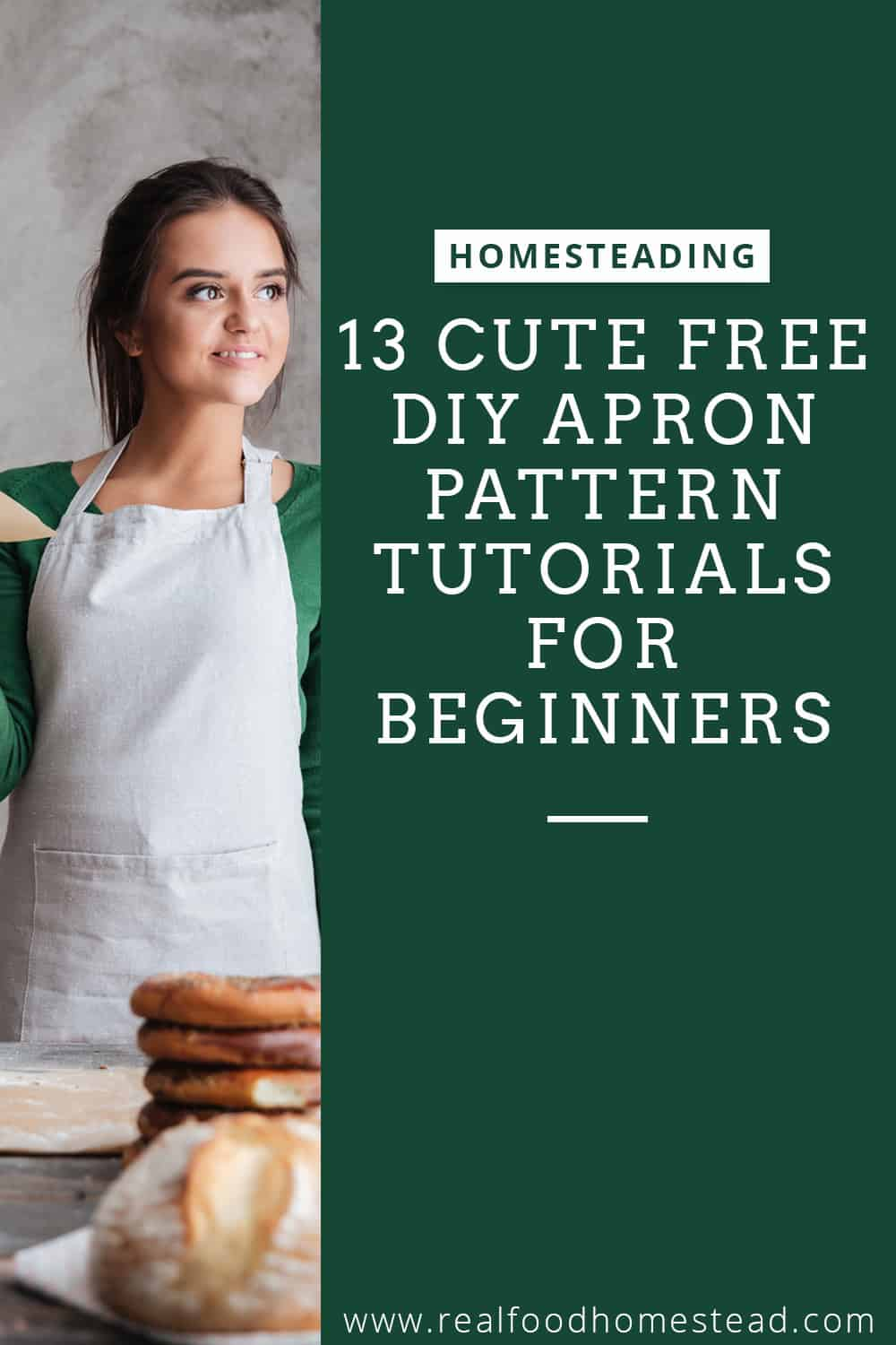 free diy apron patter tutorials pin