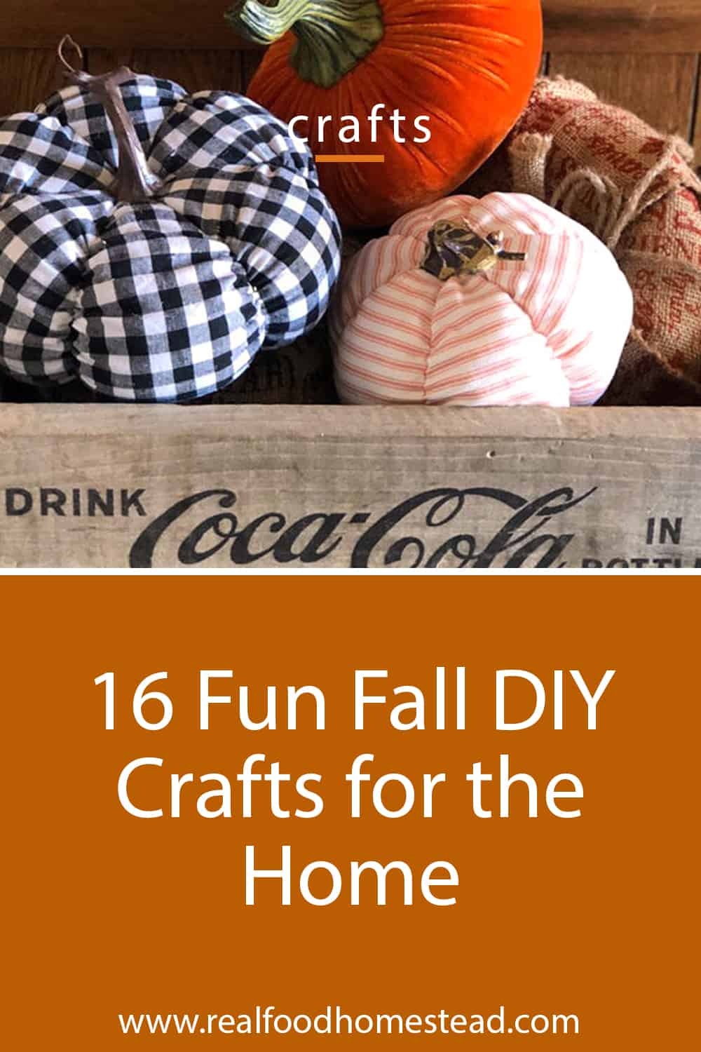 fall diy crafts pin