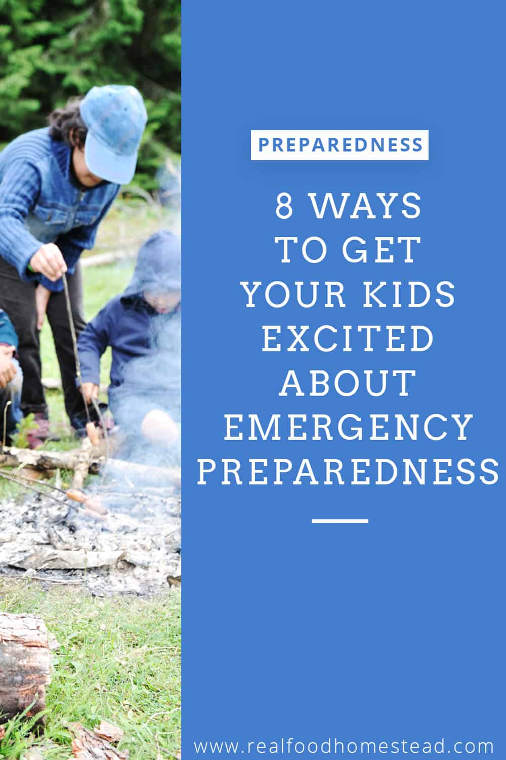 kids emergency preparedness pin