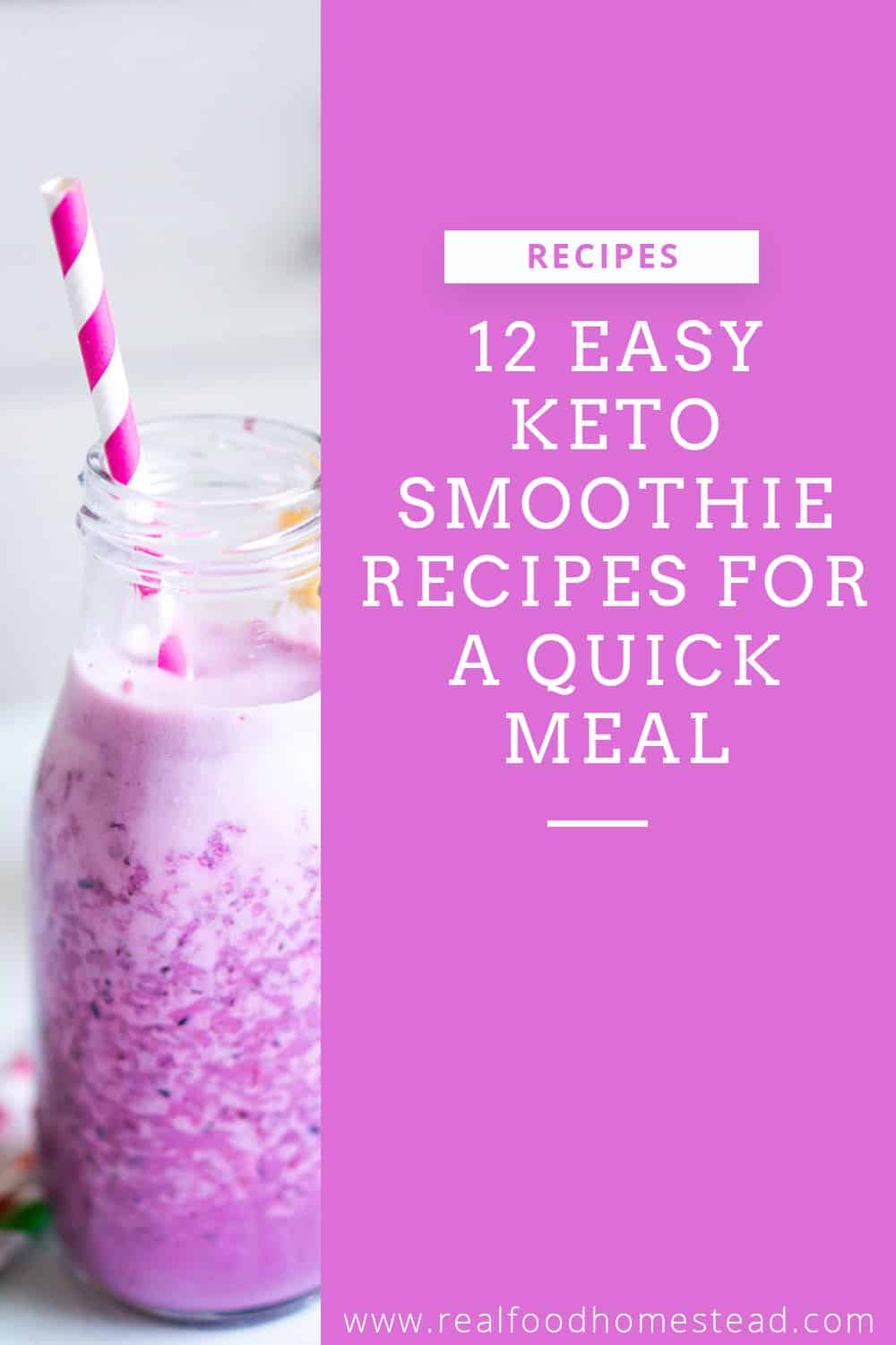 keto smoothie pin
