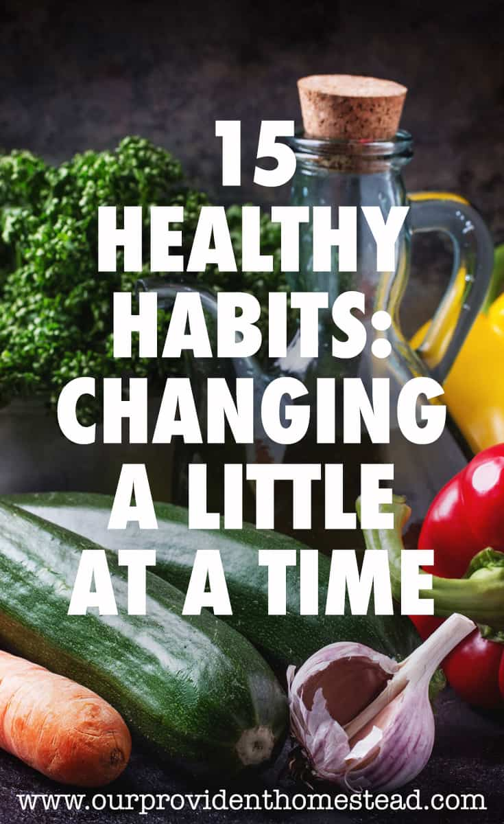 healthy habits pin