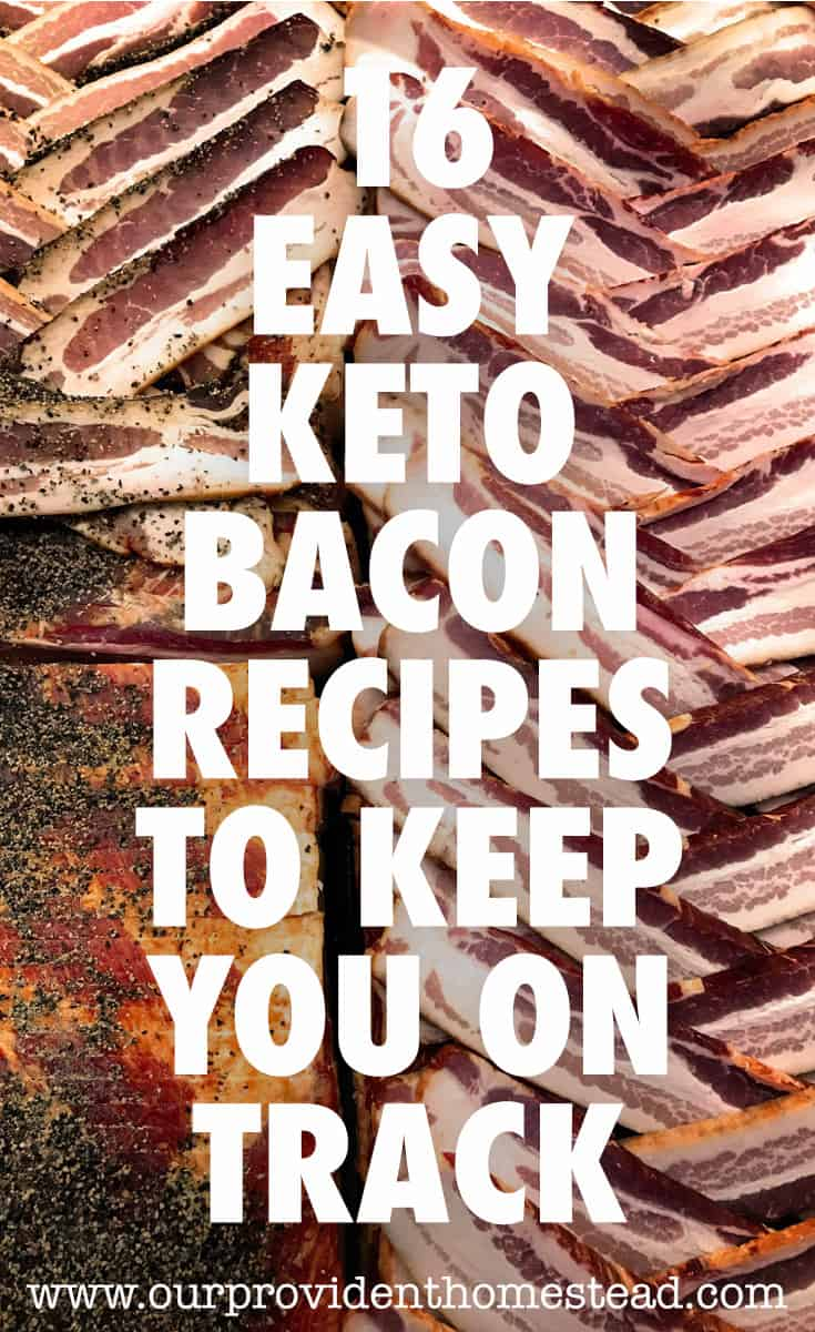 keto bacon recipes pin