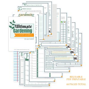 Ultimate Gardening Planner & Journal Digital Product