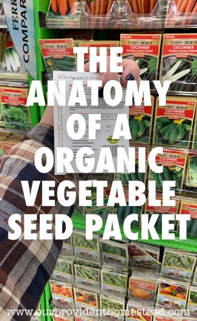 seed packet pin