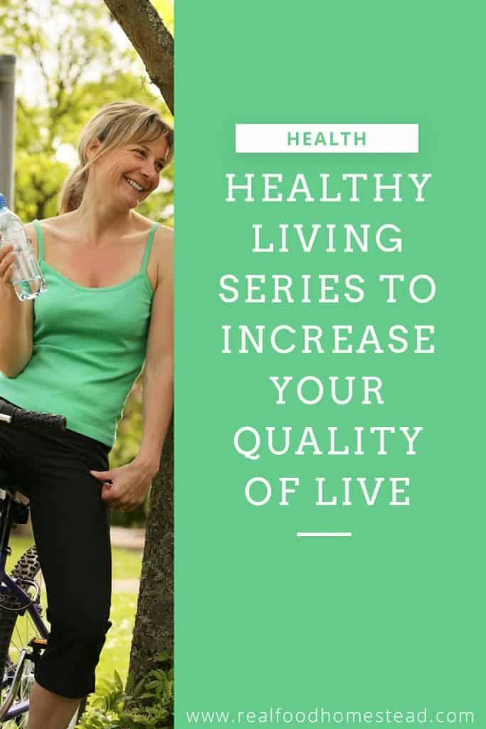 healthy living series pin