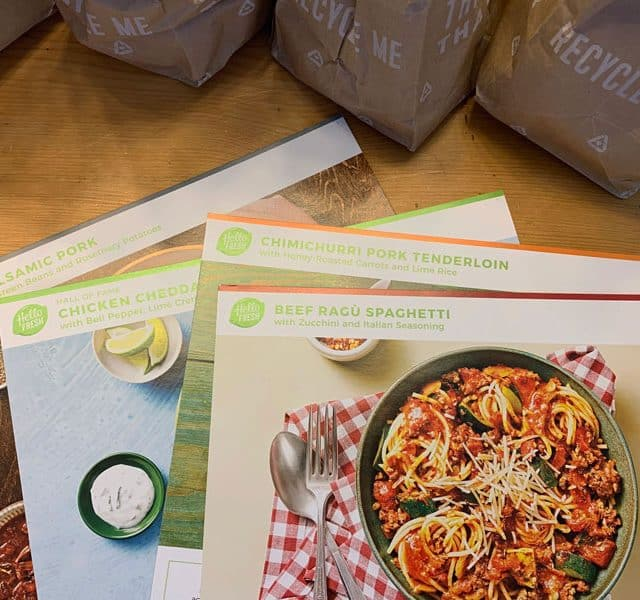 hello fresh meal delivery kit