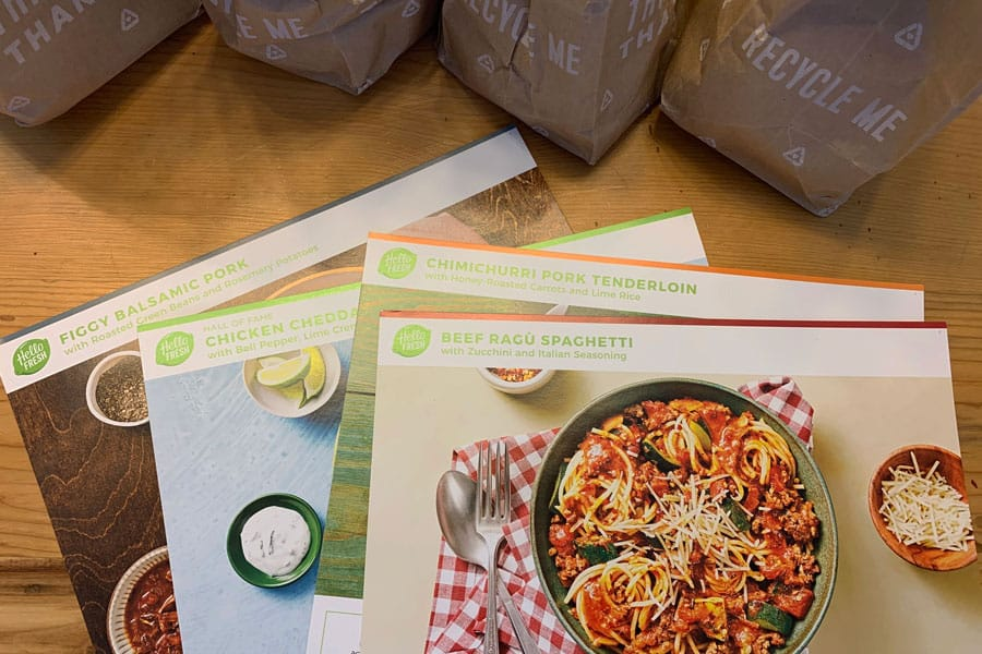 Meal Kit Delivery Service Hellofresh Size Height