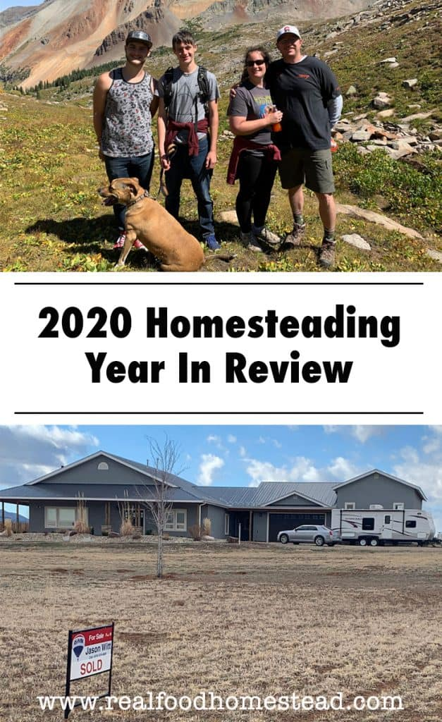 homesteading review pin